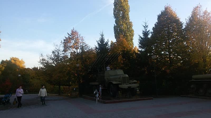 В Воронежском Парке Патриотов жара 16-го октября