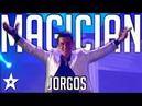 Illusionist Jorgos   All Performance   Got Talent Greece   Magician's Got Talent