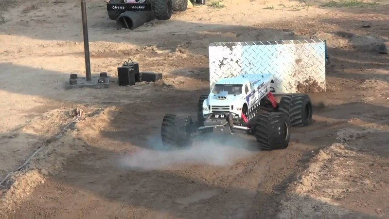 No Limit Rc World Finals 6 SLED PULLING!!