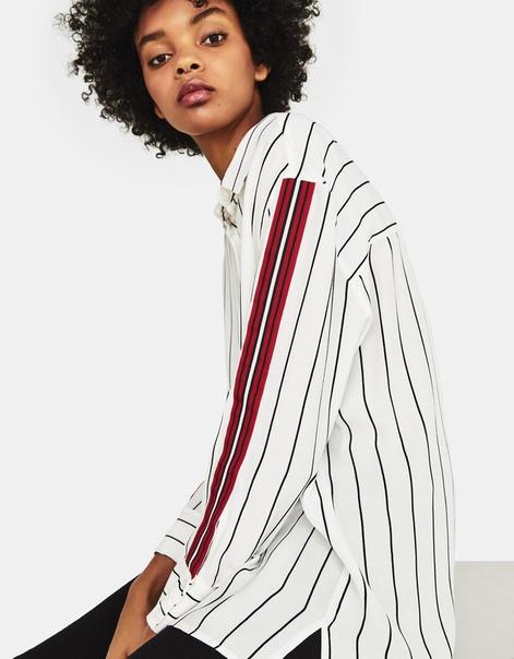 Рубашка с полосками