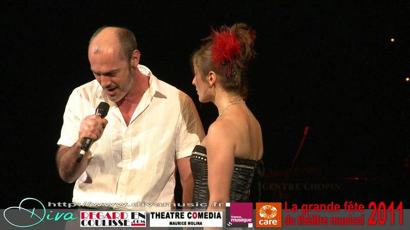 Moulin Rouge Come What May avec Sophie Delmas et Jérôme Pradon