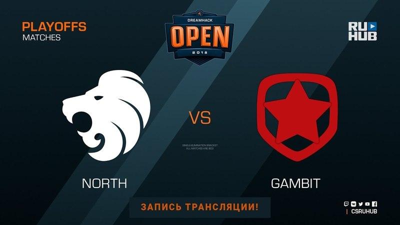 North vs Gambit - DH Open Tours - map3 - de_overpass [ceh9, yXo]