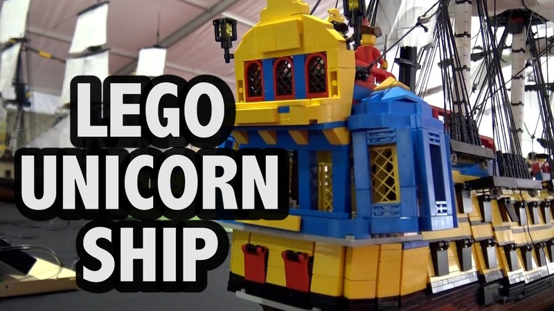 LEGO Adventures of Tintin Unicorn Ship