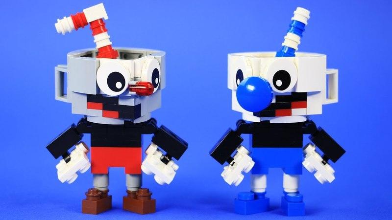 How to Build LEGO Cuphead Mugman | All Color Variants Custom Cuphead Build