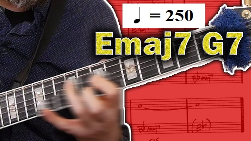 How To Solo Over Fast Moving Chord Changes Jazz Guitar