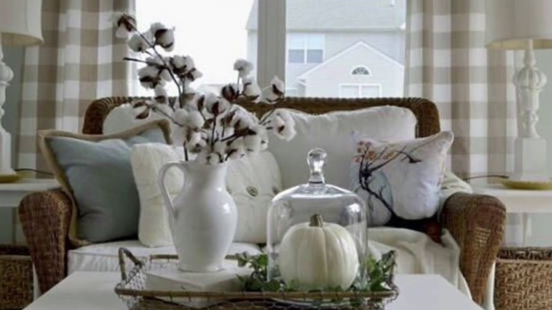 Beautiful Fall Centerpieces and coffee bar ideas