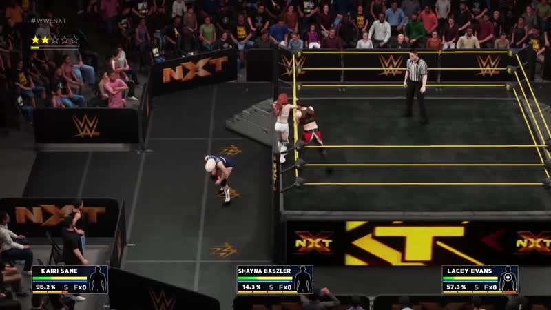 WWE 2k18 - Kairi Sane vs. Lacey Evans vs. Shayna Baszler (Womens Title)