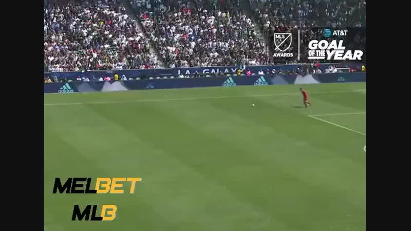 Гол Ибры - лучший в сезоне МЛС (480p)