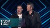 Blake Shelton &amp Carson Daly Accept