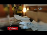 Туристка - россиянка хотела увезти из Турции полные чемоданы присвоенного в отеле имущества. Она пыталась увезти с собой столовы