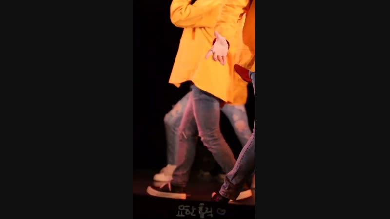 181212 TST (일급비밀) - Dont Call My Name [YOHAN focus] Осака, мероприятие в Азалия-холл