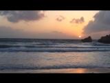 Закат на пляже, Мальта