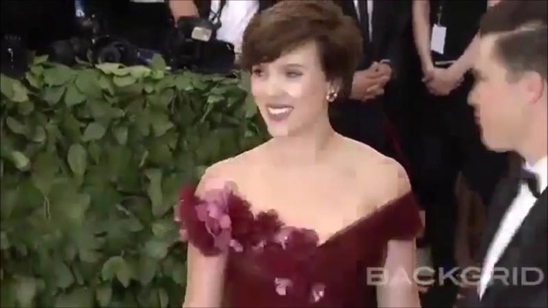 Scarlett Johansson Colin Jost At The 2018 Met Gala