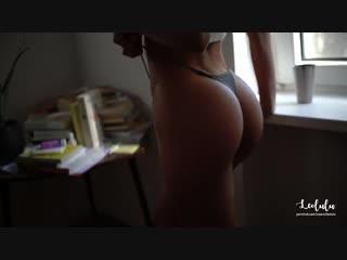 Leolulu - super hot gf blowjob and fucked hard after cumshot (pov/amateur/blowjob/big ass/минет/порно/домашнее/от первого лица)