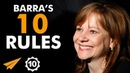 TALENT Alone is NOT ENOUGH! - Mary Barra (@mtbarra) - Top 10 Rules