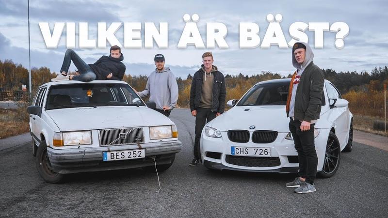 VOLVO 740 VS. BMW M3