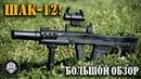 ШАК-12! (АШ-12) Стрельба и большой обзор 12,7 мм крупнокалиберного штурмового автоматного комплекса
