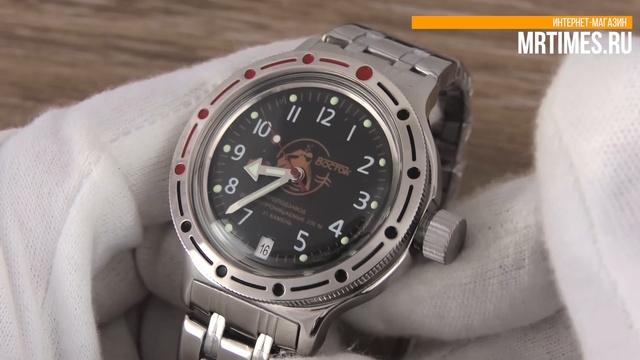 Восток Амфибия 420380 Аквалангист. Обзор часов Восток Амфибия от MrTimes.ru