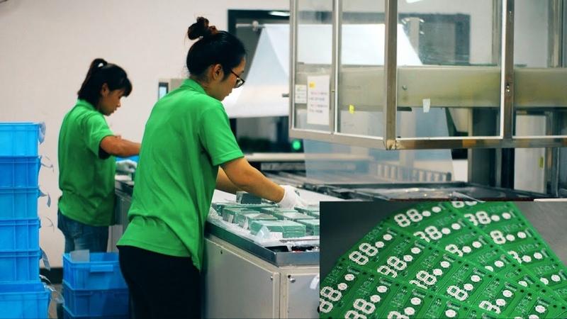 Мегазаводы Китая - JLCPCB. Производство печатных плат.