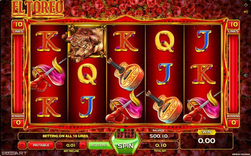 Обзор игрового автомата El Toreo Slot