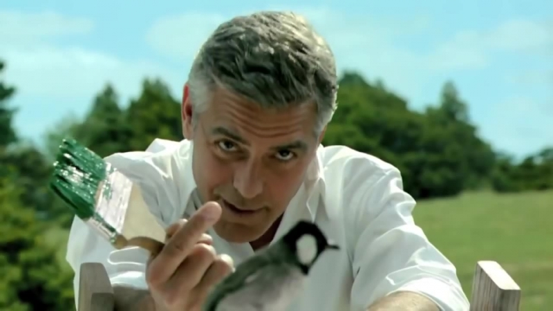 George Clooney - Kirin beer CM - TV Commercial Japan - pub Japon