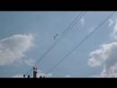 Русские витязи в Пскове 1. 2.09.18 Съемка из Опочиц