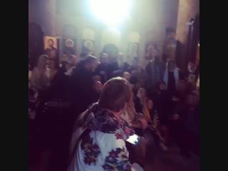 Грузия. пение 5 братских народов во Христе. Русские, Грузины, Македонцы, Сербы, Болгары!))