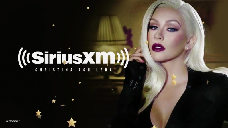 Full Christina Aguilera - SiriusXM The Morning Mash Up Interview (100218)