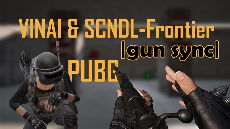 VINAI SCNDL-Frontier 🎵 |gun sync| (PUBG)