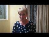 Ведущая Натали Шемето - Видеоотзыв №2