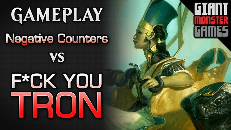 NEW Negative Counters -vs- The Bull Shit that is TRON- MTGO Gameplay 3
