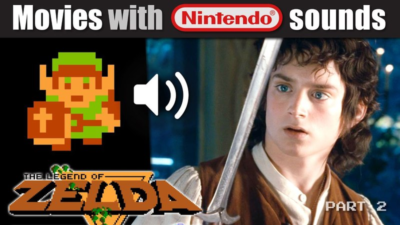 'Lord of the Rings' with ZELDA Nintendo sounds! (Part 2)