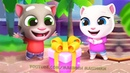 ГОВОРЯЩИЙ ТОМ ВЕСЕЛАЯ ЯРМАРКА 3 Новый персонаж мультик игра видео для детей Talking Tom Fun Fair