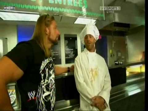 HBK come back in RAW and reform DX cooker scene