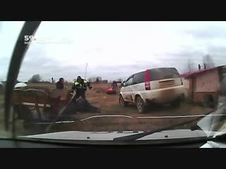 Стрельба по полицейским в Прикамье
