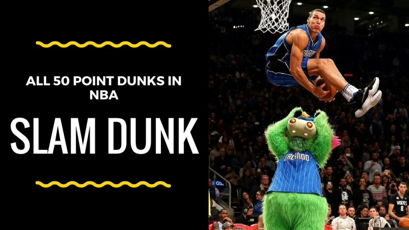TOP 50 Point Dunks of Slam Dunk Contest