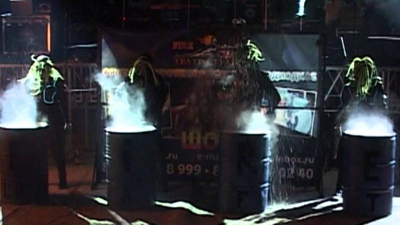 Фаер шоу, огненное шоу от Театра-Студии Fire Craft! Программа Маскарад!