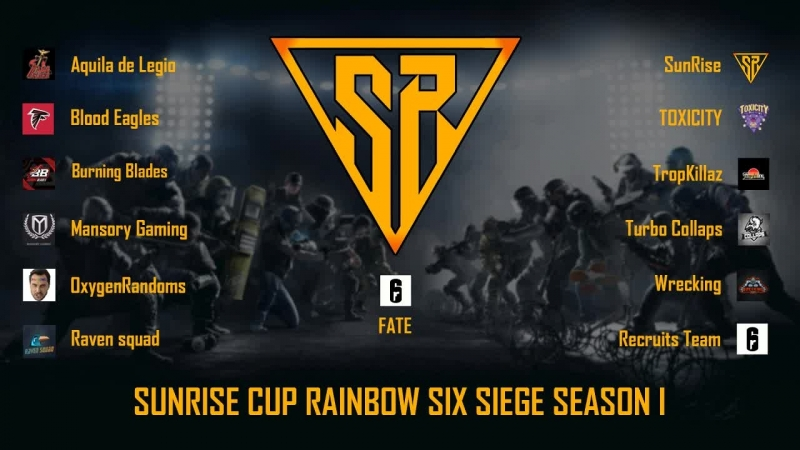 SunRise VS Recrut Team @1Nukem @NKJ SunRise Cup I[RU]