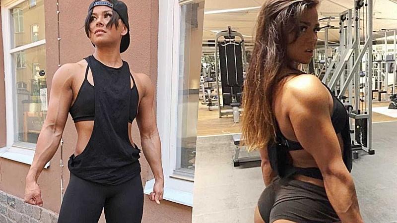 KASLI KIZ SÜPER EGZERSİZ - Sophie Arvebrink | Fitness Motivasyon