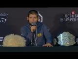 Пресс-конференции после боя UFC 229 Нурмагомедов — Макгрегор