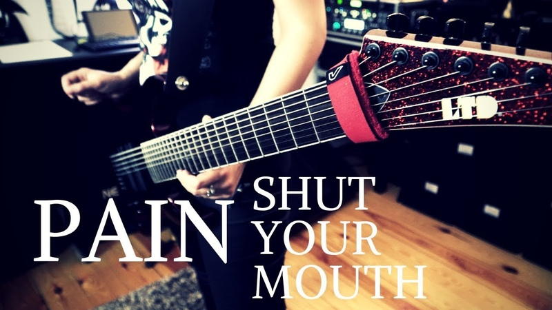 Pain - Shut your mouth Guitar Cover [4K / MULTICAMERA]