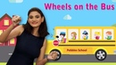 Wheels on the Bus With Actions Wheels on the Bus Go Round and Round With Actions English Rhymes