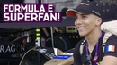 Formula E Superfan Meets Nico Rosberg And Has The Best Day Ever! | ABB FIA Formula E Championship