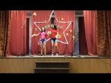 Абашкина Надежда т Ерёмина Яна 6 В. Танец «Гламурные акулы»