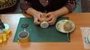 Декорирование банки кофейными зернами и шпагатом
