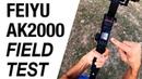 Feiyu ak2000 Gimbal Field Test