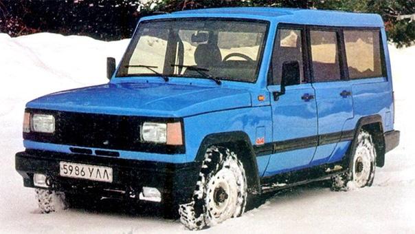 «УАЗ», попытавшийся стать Range Rover