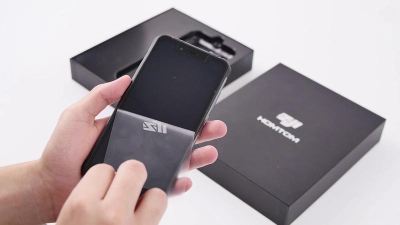 Распаковка смартфона HOMTOM ZOJI Z33 с защитой IP68
