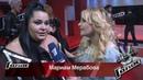 Мариам Мерабова - Интервью после четвертьфинала [Голос-3 (Voice-3), Четвертьфинал, 05.12.2014]