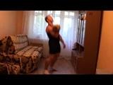 One half Jerk (Bump) form Morozov Igor - RGSI kettlebell workout